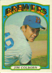 1972 Topps Baseball Cards      386     Jim Colborn